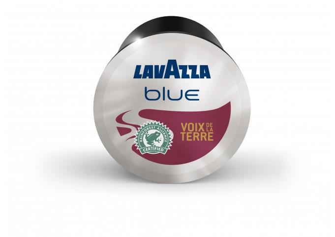 LAVAZZA BLUE présente les capsules VOIX DE LA TERRE en carton de 100 capsules