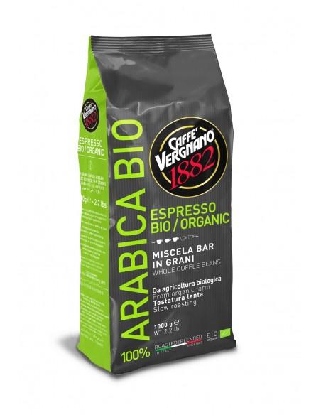 Caffè Vergnano présente son café BIO issue de l'agriculture biologique et éco-responsable