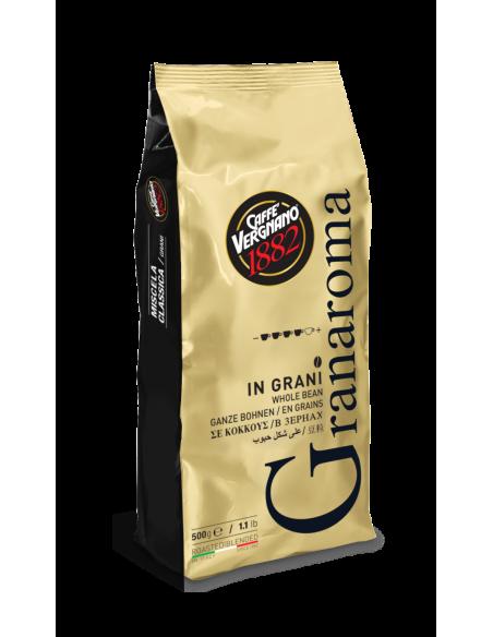 Le café grains GRAN AROMA par Café Vergnano révèle une amertume prononcée destiné aux amateurs de café !