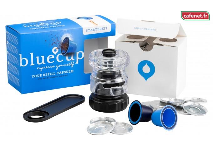 #un geste pour ma planète pour le café que je choisi avec la capsule BlueCup rechargeable et réutilisable