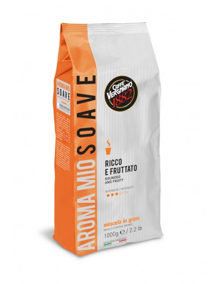 Café grain SOAVE par Vergnano, produit pour la Distribution Automatique