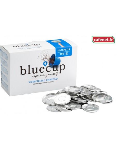 Opercules Blue Cup par 100, Facile, simple, efficace et astucieux.