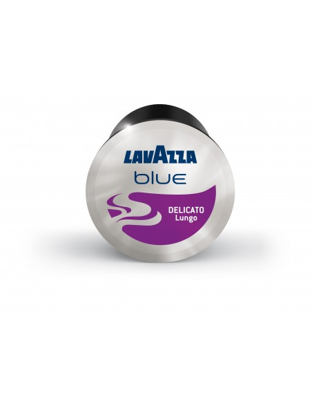 LAVAZZA BLUE présente dans sa gamme capsules le DELICATO en carton de 100