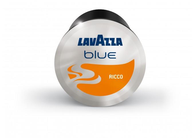 LAVAZZA BLUE présente les capsules RICCO en carton de 100 capsules