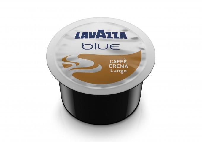 LAVAZZA BLUE présente les capsules CREMA LUNGO en carton de 100 capsules